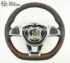 Wurzelnuss Holz Lenkrad für Mercedes-Benz AMG W222 W217 W205 W218 W176 W117