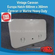 Caravan Boat Europa Door Hatch 600mm x 360mm UV Stablised Plastic