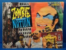 Zombie Nation Manual ONLY! Water Damaged Free Shipping!
