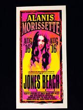Vintage Alanis Morissette Handbill-1996-Jagged Little Pill- Arminski Silkscreen!