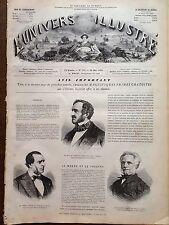 L'UNIVERS ILLUSTRE 1870 N 802 - LES NOUVEAUX MINISTRES DU GOUVERNEMENT
