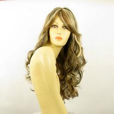 Perruque femme longue méchée blond clair méché cuivré chocolat ANGIE 15613H4