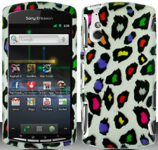 Sony Ericsson Xperia Play R800 Hard Protector Case Phone Cover Colorful Leopard