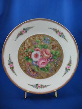 Limoges Handpainted Floral Plate - One Of Napoleon'S Personal Patterns