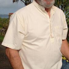 Grandad Shirt half //button classic by Kaboo Original ..if Carling made shirts...