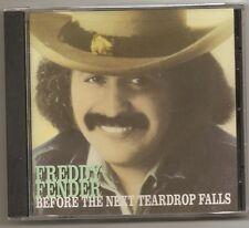 "FREDDY FENDER, CD ""BEFORE THE NEXT TEARDROP FALLS"" NEW SEALED"