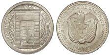 COLOMBIA 1 PESO 1956 Mo KM#216 ARGENTO/SILVER #779A