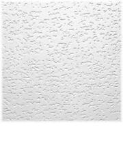 "(5) USG INTERIOR 12""x12"" TIVOLI WOOD FIBER TEXTURED FINISH CEILING TILES 4240"
