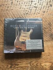 Rory Gallagher Let's Go To Work 4 CD Live Box Set (new & unopened)