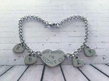 Stainless Steel Personalised Bracelet