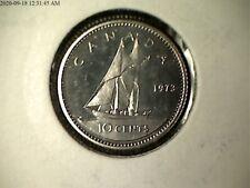 1973 (A) Canada  Specimen 10 Ten Cent Coin