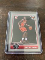 2016-17 Pascal Siakam Complete Silver Rookie Card🔥 On Fire🔥