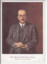AK Univ.-Prof. Dr. Fritz Pregl, Graz, Künstler Prof. Leo Scheu, um 1930