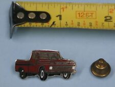 1964-66 Chevrolet Truck vintage hat pin lapel pin tie tac collector button Red