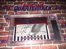 2010 Tommy Heinsohn Leaf Sports Icons Cut Signature Autograph HOF 4/5 Celtics