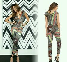 NWT GUESS by Marciano Leila Jumpsuit tribal-inspired print size 2
