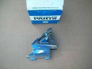 NOS MoPar 1968 Chrysler Newport Custom 300 4 Door Hardtop Right Quarter Moulding