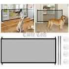 Pet Dog Cat Baby Safety Gate Mesh Fence Home Kitchen Net Portable Guard Indoor