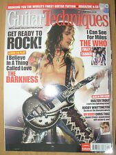 GUITAR TECHNIQUES MAGAZINE MAY 2007 NO CD THE WHO I CAN SEE FOR MILES