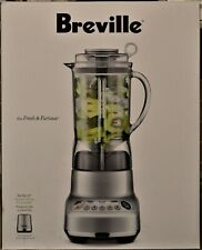 Breville Fresh & Furious 50oz 1000W Countertop Blender #BBL620SILAUS1 - NEW