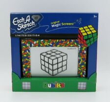 Etch A Sketch Limited Edition 60th Anniversary Rubik's Cube Edition NEW