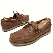 @@ Sperry Top-Sider Mens 12 M Original Leather Brown Lace Up Boat Shoes Loafers