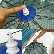 Folded Fish Net Portable Hexagon 6 Hole Automatic Fishing Shrimp Trap Sporting G
