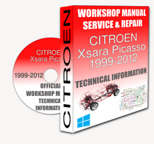 Service Workshop Manual & Repair Manual CITROEN XSARA PICASSO 1999-2012 +WIRING
