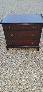 Vintage Stag Minstel Mahogany 3 Drawer Chest Of Drawers