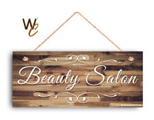 """Beauty Salon Sign, Rustic STORE Sign, Company Sign, Business Sign, 6""""x14"""" Sign"""