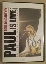 Paul mccartney-dvd Paul Is Live In The New Wold Tour Vg++