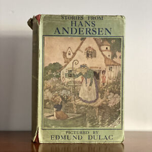 Stories from Hans Andersen. 1934 1st Edition Thus. Illustrations by Edmund Dulac