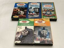 Thomas The Tank Engine & Friends VHS Lot (5) Vintage Tapes George Carlin Ringo