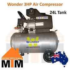 *SALE 1 WEEK ONLY* WONDER 3HP 240v Air Compressor Direct Drive 198L/min 24L Tank