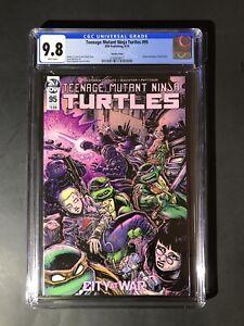 TEENAGE MUTANT NINJA TURTLES #95 Cgc 9.8 1st Jennika As A Turtle 🐢 📈🚀
