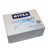 Nivea Creme Soft Soap 100g soap bar by Nivea