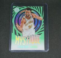 2019-20 Panini Illusions Steph Curry Mystique Green - Golden State Warriors