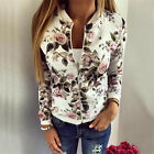 Fashion Womens Ladies Long Sleeve Casual Blazer Suit Zipper Jacket Coat Outwear