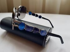 New Linda Farrow x Oscar De La Renta Sunglasses Gemstone