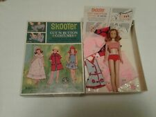 Vintage Skooter Doll with Cut n Button Costumes in Original Box