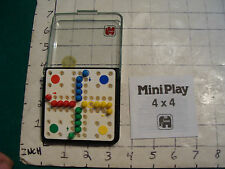 vintage travel game: by Jumbo MINI 4X4 complete w instructions in case