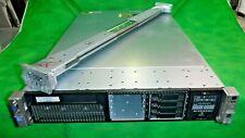 HP ProLiant DL380p G8 Server 2 Xeon E5-2640 12 Cores 2.5GHz 96GB Rail NO HDD D
