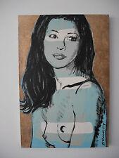David Bromley Original Painting 'Michelle' 90x60cm