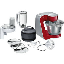 Bosch MUM58720 CreationLine Küchenmaschine Deep Red