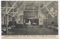 """AK Gruss aus Hameln Restaurant Cafe """"Zum Parseval"""" Festsäle Postkarte 1915"""
