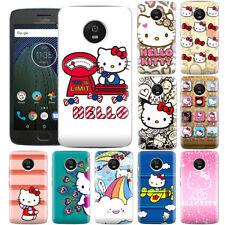 Dibujos Animados Anime Hello Kitty creativo Hermosa Funda De Teléfono Para Motorola ZTE & OPPO