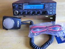 EMPEROR TS 5010 TEN METER RADIO W/ ASTATIC D104 M6B