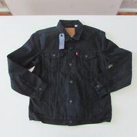 NEW Levi's The Trucker Mens Denim Jacket Size Extra Large Black RRP $149.95