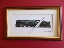 More details for railway prints - 34053 sir keith park framed