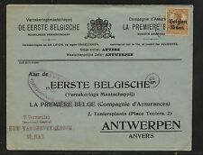 Belgium  N15    stamp on cover nice ad  cover        KL0720